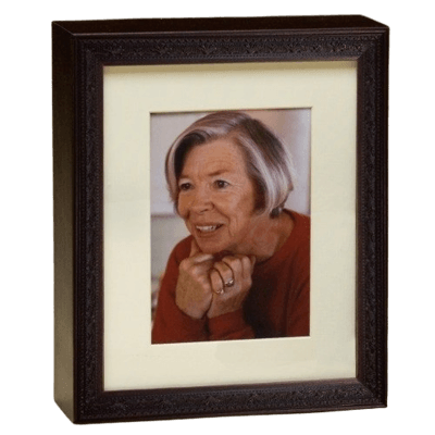 Photo Legacy Wood Cremation Urn