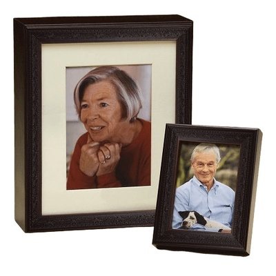 Photo Legacy Wood Cremation Urns