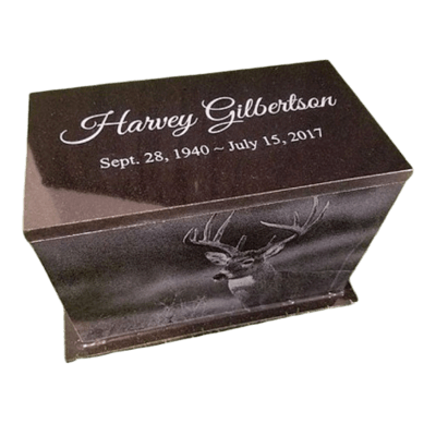 Picture Granite Cremation Urns