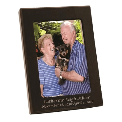 Picture Wood Keepsake Cremation Urn