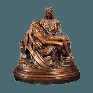 Pieta Bronze Cremation Urn