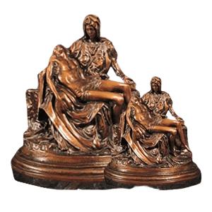 Pieta Bronze Cremation Urns