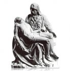 Pieta X Large Marble Statues