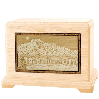 Pikes Peak Maple Hampton Cremation Urn