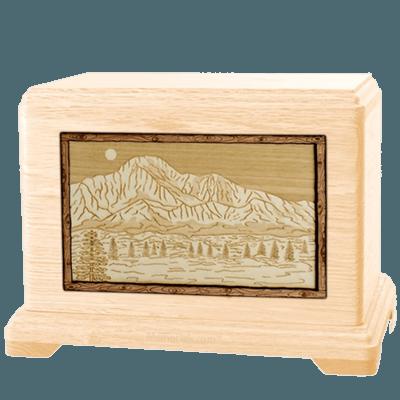 Pikes Peak Maple Hampton Cremation Urn