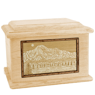 Pikes Peak Maple Memory Chest Cremation Urn