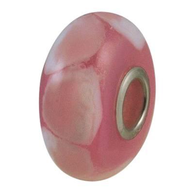 Pink Harmony Cremation Ash Bead