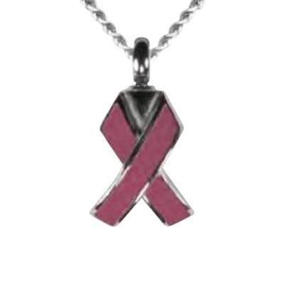 Pink Ribbon Keepsake Pendant