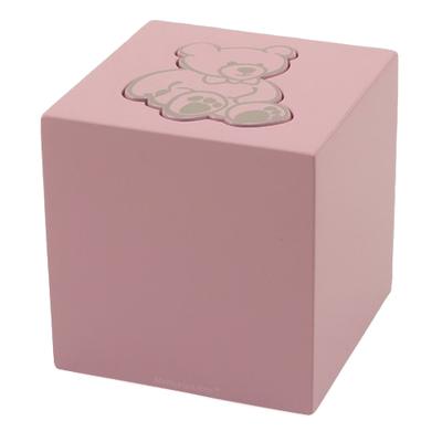 Pink Teddy Bear Child Urn