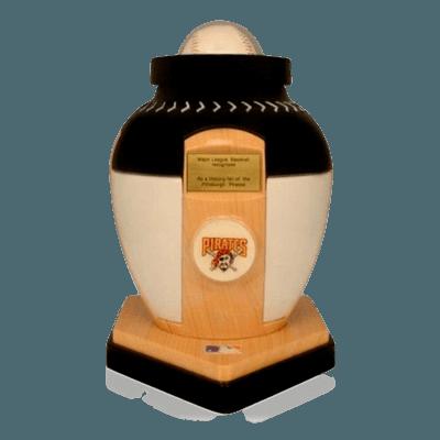 Pittsburgh Pirates Baseball Cremation Urn
