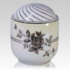 Platinum Rose Companion Cremation Urn