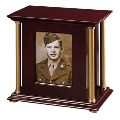Pledge Military Cremation Urn