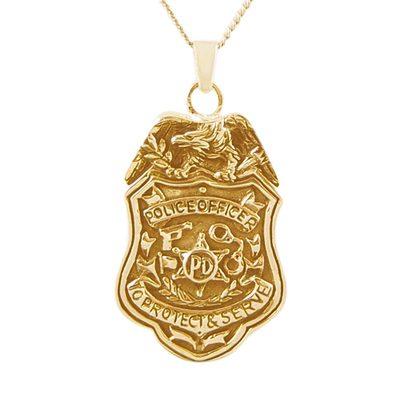 Police Department Keepsake Pendant II