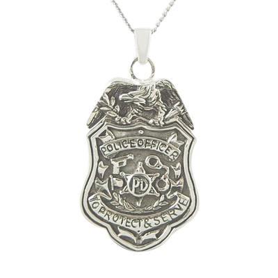 Police Department Keepsake Pendant