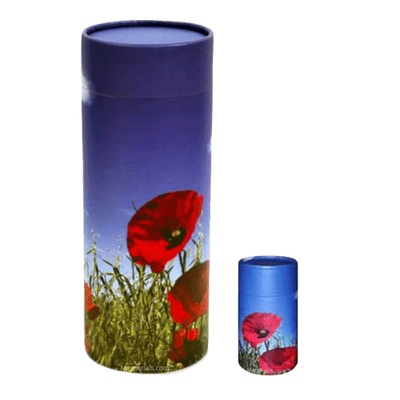 Poppy Scattering Biodegradable Urns
