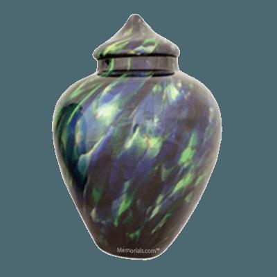 Poseidon Glass Cremation Urn