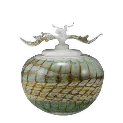 Pothos Sargo Small Art Cremation Urn