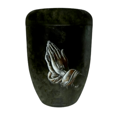 Praying Hands Biodegradable Urn