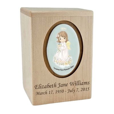 Precious Moments Hispanic Girl Child Urns