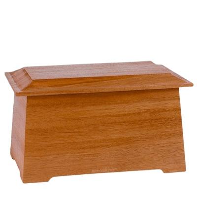 Prestige Mahogany Cremation Urn