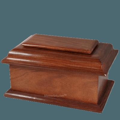 Prezioso Wood Child Cremation Urn