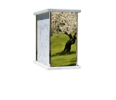 Prim Apple Tree Cremation Urn