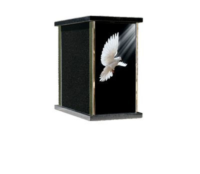 Prim Dove Cremation Urn