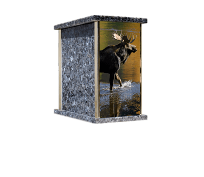 Prim Moose Cremation Urn