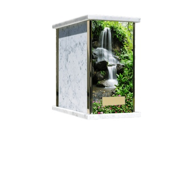 Prim Waterfall Cremation Urn