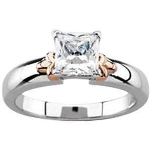 Princess White & Rose Ring