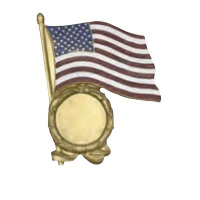 Proud Flag Medallion Appliques