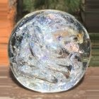 Purity Ash Glass Weight