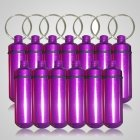 Purple Cremation Discount Keychains