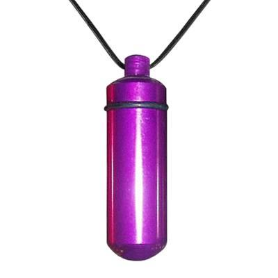 Purple Cremation Pendant