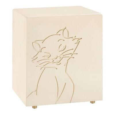 Purring Tan Cat Urn