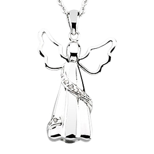 Angel Cremation Keepsake Pendant