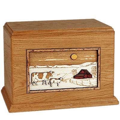 Ranch Mahogany Companion Urn