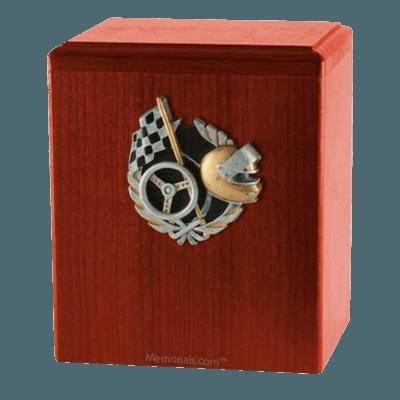 Race Car Cherry Cremation Urn
