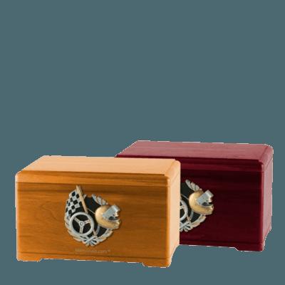 Racecar Fan Cremation Urns