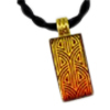 Radiance Gold Glass Memorial Jewelry