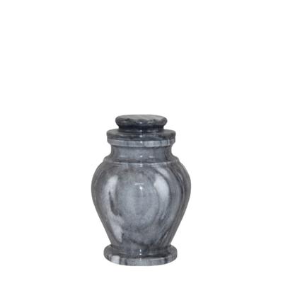 Rainy Marble Keepsake Urn