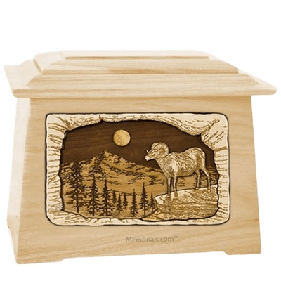 Ram Maple Aristocrat Cremation Urn