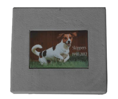 Rectangle Pet Grave Marker