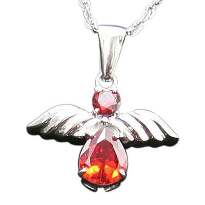 Red Angel Cremation Jewelry