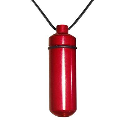 Red Cremation Pendant