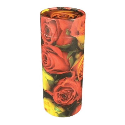 Roses Scattering Biodegradable Urn