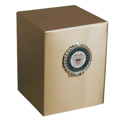 Remembrance Navy Cremation Urn