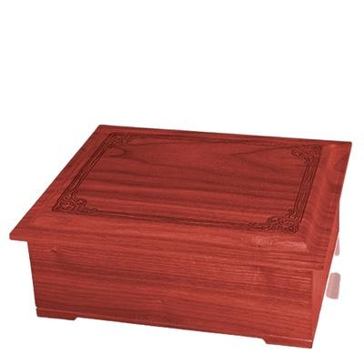 Renaissance Wood Cremation Urn