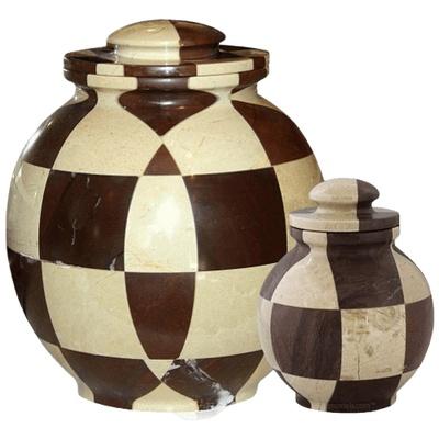 Renaissance Marble Cremation Urns