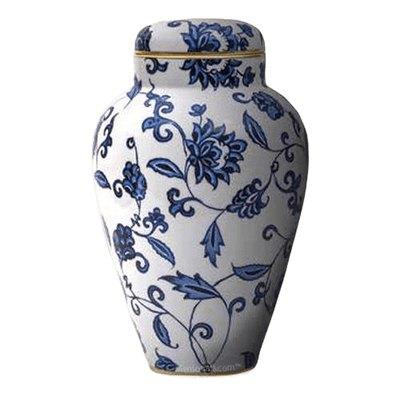 Renaissance Porcelain Companion Urn